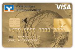 """Visa Karte, Motiv """"Weltkugel"""""""